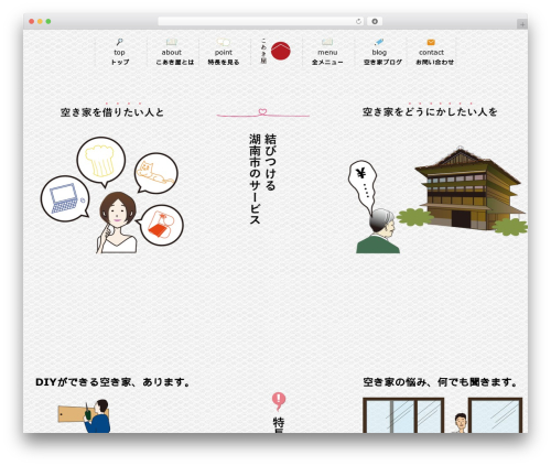 JAPANESE Base Theme best WordPress theme - coakiya.com