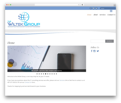 Free WordPress WP Header image slider and carousel plugin - thewiltekgroup.com