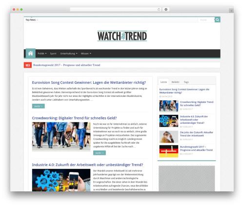 Sahifa WordPress magazine theme - watch-the-trend.com