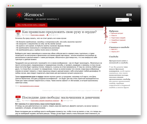 Stardust top WordPress theme - zhenjus.ru