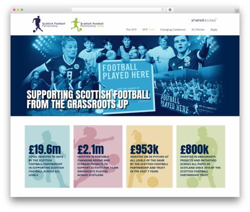 Striking MultiFlex & Ecommerce Responsive WordPress Theme top WordPress theme - scottishfootballpartnership.com