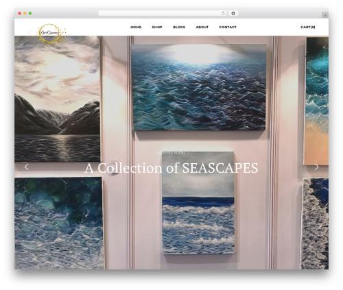Template WordPress Artday - zuricanvas.com