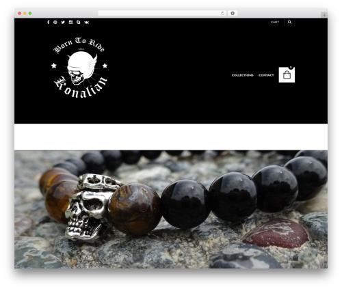 The Retailer WordPress template - konalian.com