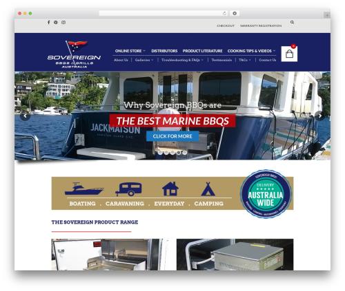 The Retailer WordPress theme - sovereignbbqs.com
