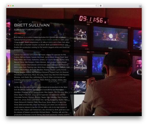 Theme WordPress August - brettsullivan.com