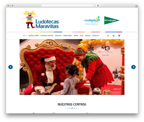 WordPress theme Kidslife - ludotecasmaravillas.com