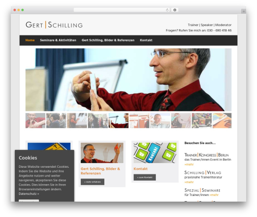 WordPress theme Suave - gert-schilling.de