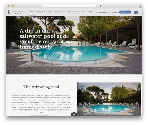 AccessPress Parallax WordPress theme download - hotel-labussola.com