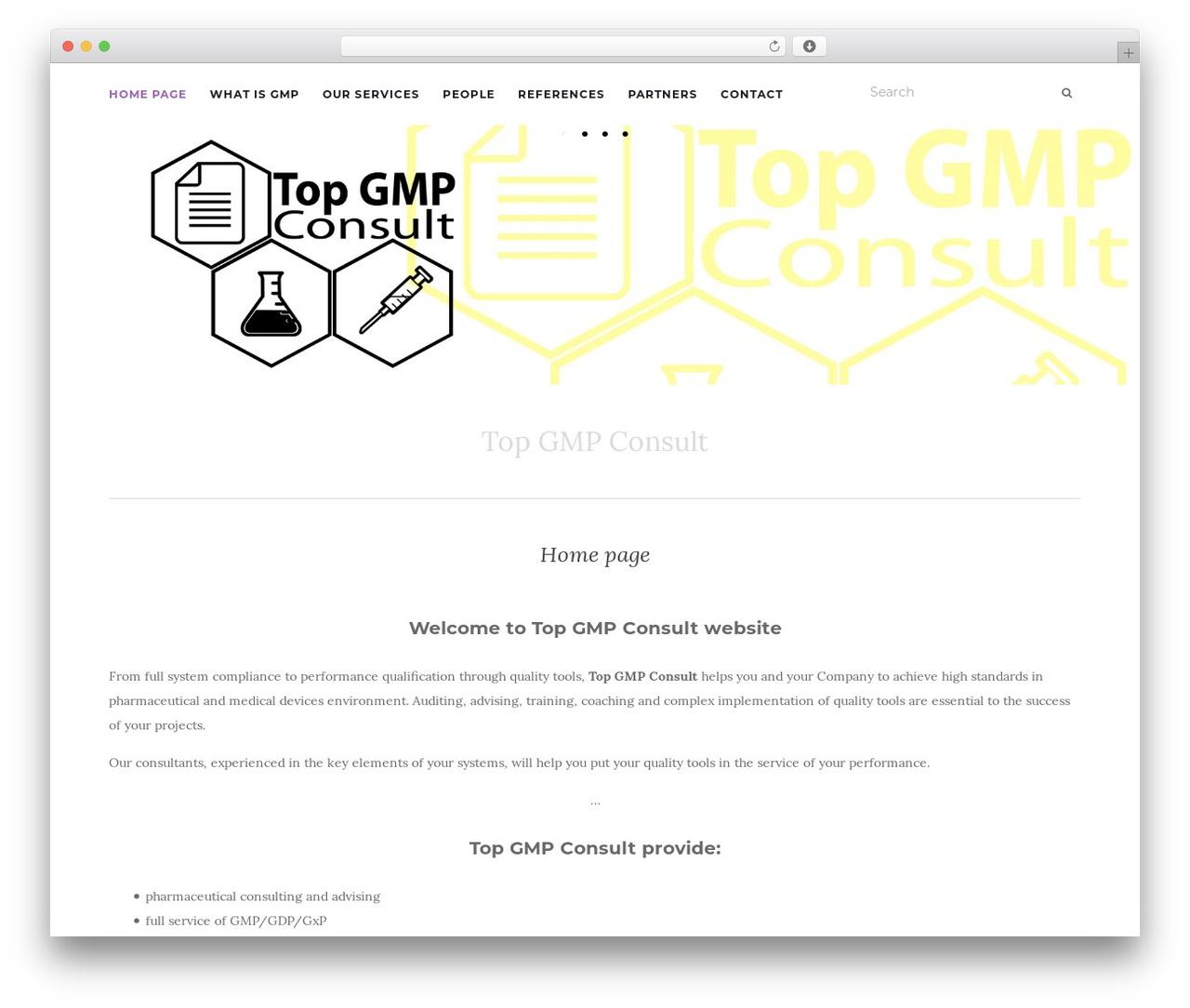 Activello business WordPress theme - topgmp.com