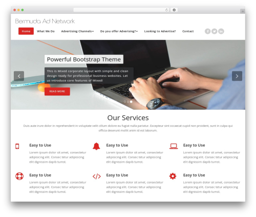 Appointment free WordPress theme - vendor365.com