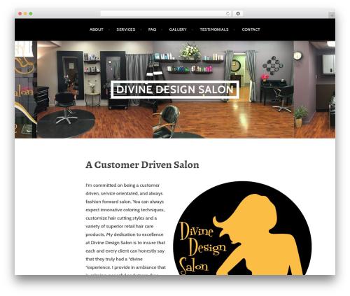 Argent free website theme - divinedesignsalon.com