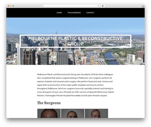 Argent template WordPress free - melbourneprg.com