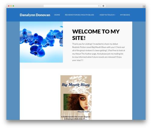 Author Pro WordPress theme - danalynndonovan.com
