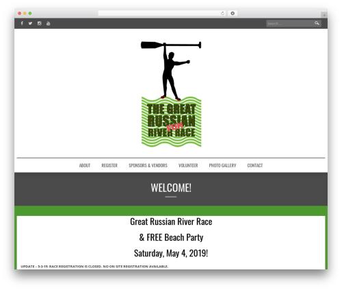 Best WordPress template Comley - greatrussianriverrace.com