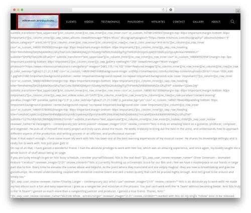 Best WordPress template Lucille - nilsmusicproductions.com