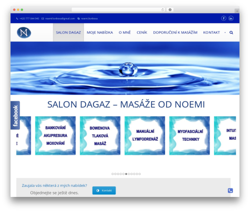 Best WordPress template Yolia - salondagaz.com