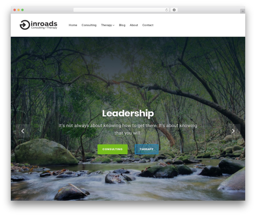 Businessx template WordPress - inroadsconsultingandtherapy.com