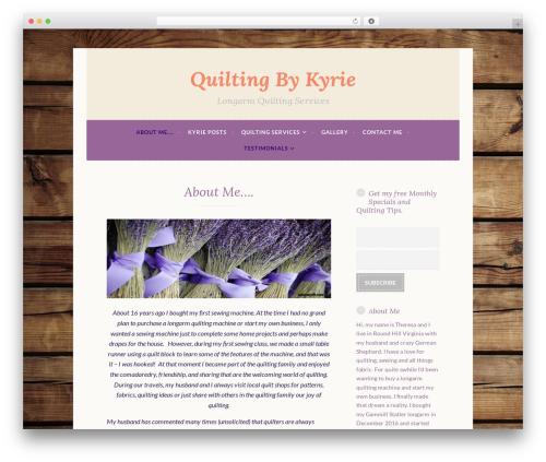 Free WordPress Testimonials plugin - quiltingbykyrie.com