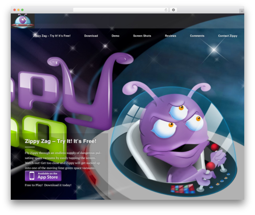 Ergo WordPress theme - zippyzag.com