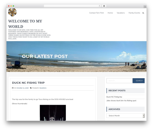 Expedition template WordPress free - tflint1.com