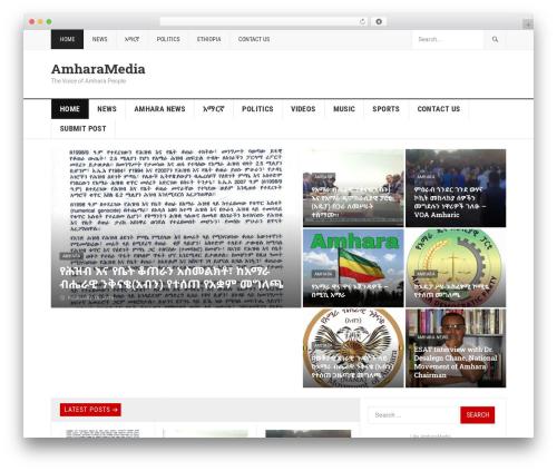 GoodPress Pro template WordPress - amharamedia.com