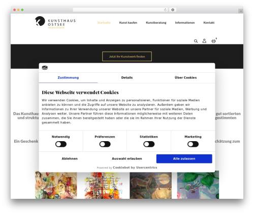 harveststore WordPress theme design - kunsthaus-ostsee.com