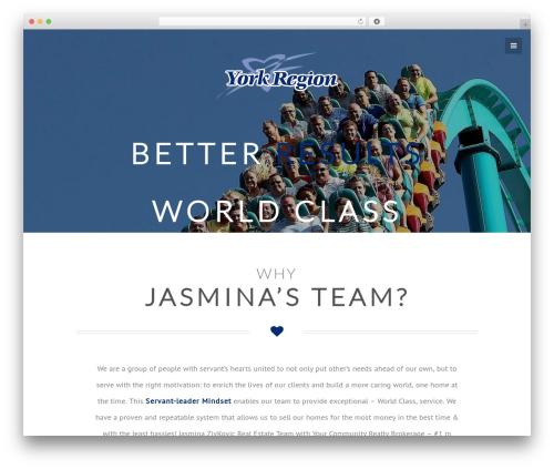 Nervaq real estate template WordPress - jasminahomes.com
