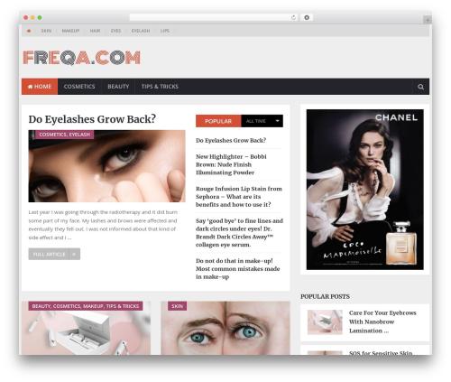 NewsOnline by MyThemeShop WordPress magazine theme - freqa.com