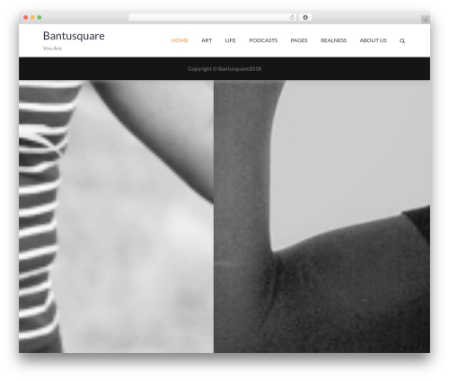 Pet Business best WordPress template - bantusquare.com