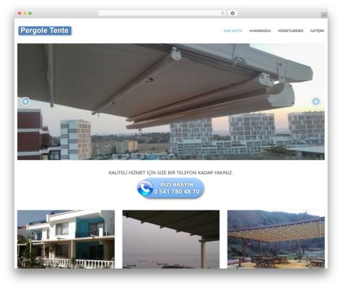 WordPress slider plugin - pergole-tente.com