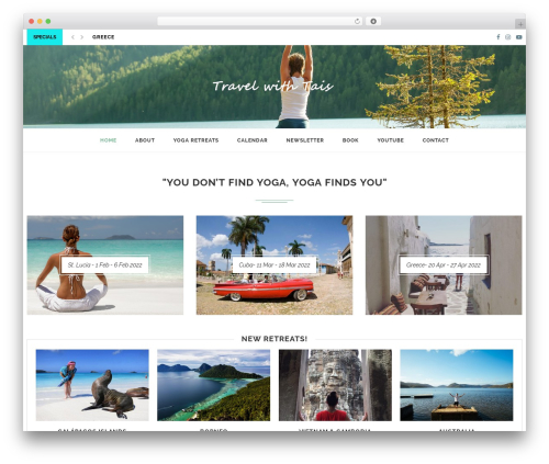 soledad WordPress travel theme - taisfroggatt.com