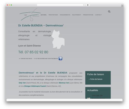 Template WordPress Avanti - dermvetmouv.com