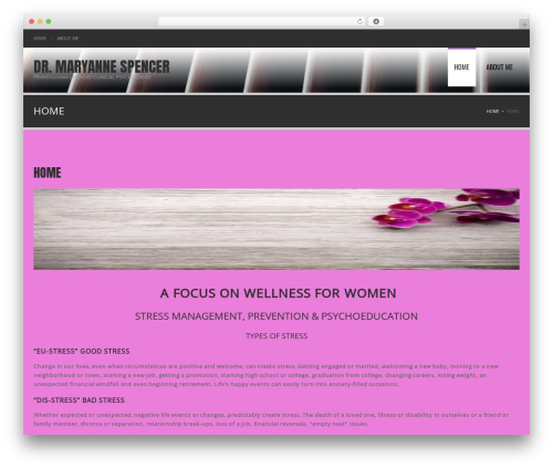 Theme WordPress Fortune - drmaryannespencer.com