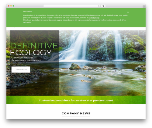 TM Structure theme WordPress - definitivecology.com