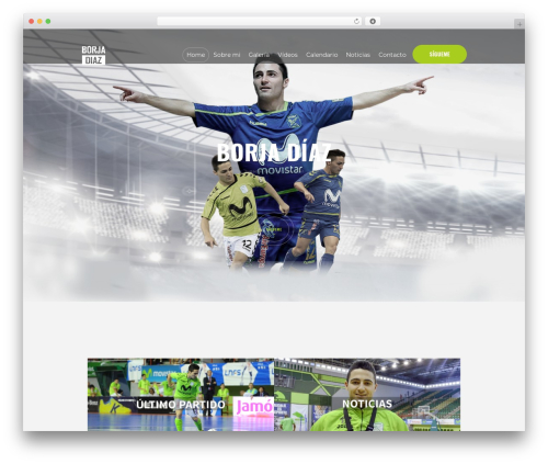 WordPress theme RunCrew - borjadiaz12.com