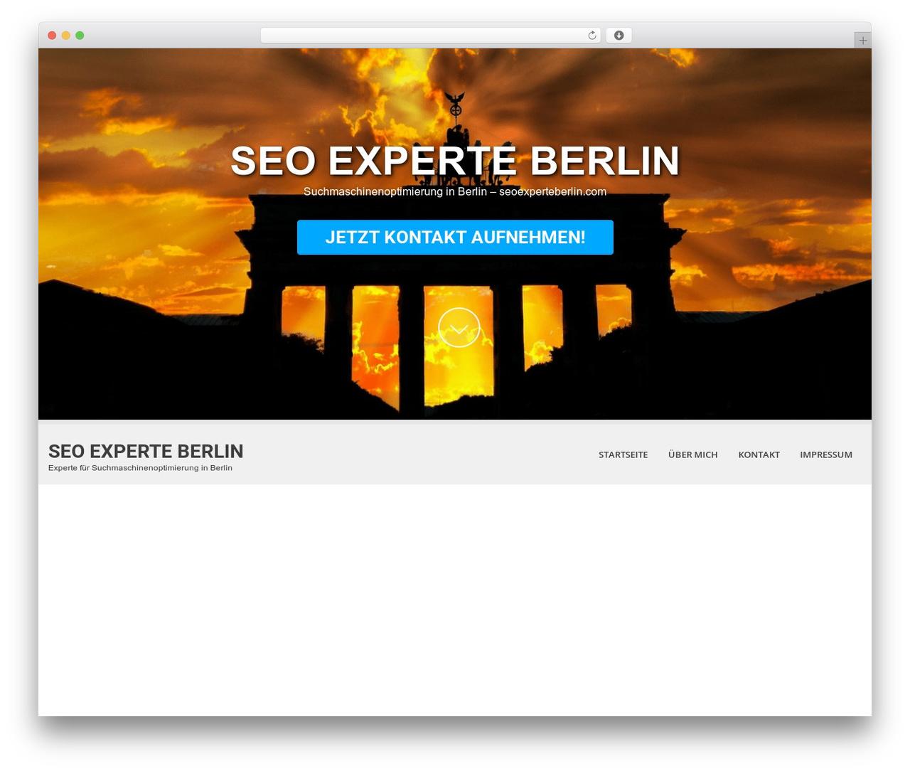 WordPress website template SKT White - seoexperteberlin.com