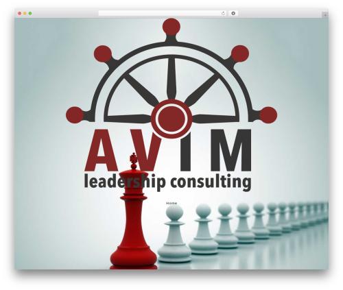WP Suarez WordPress website template - avimconsulting.com