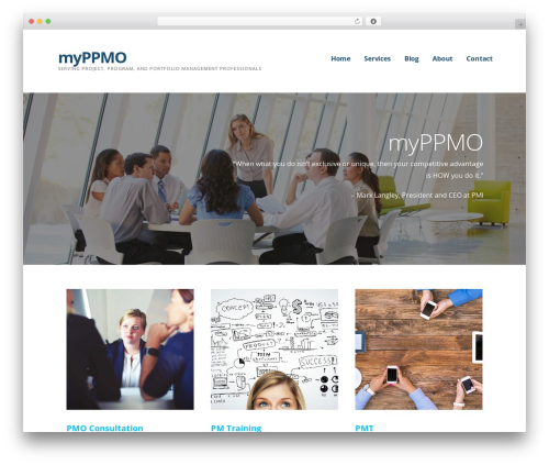 Ascension theme WordPress - myppmo.com
