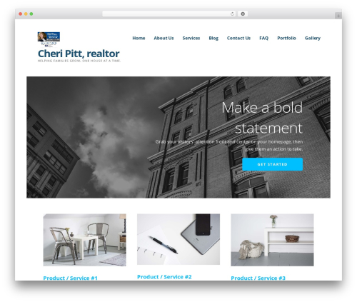 Ascension WordPress template - cheripitt.com