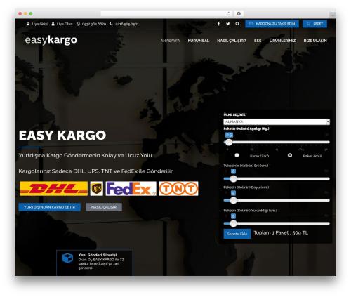 Cargo WP theme - easykargo.com