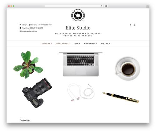 Edge free WordPress theme - elite-video.com