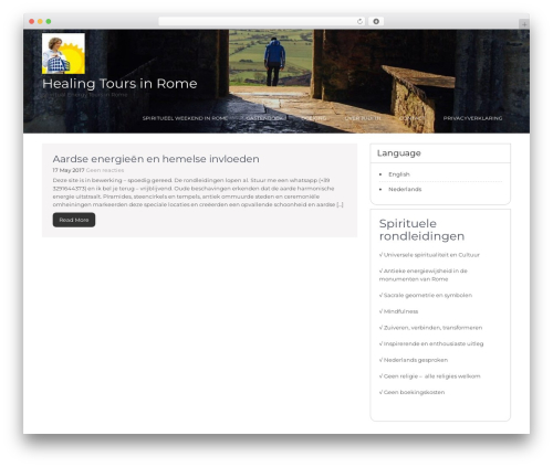 Guideline template WordPress free - healingtoursinrome.com