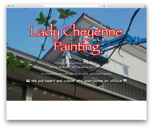 Hydrogen theme WordPress - ladycheyennepainting.com