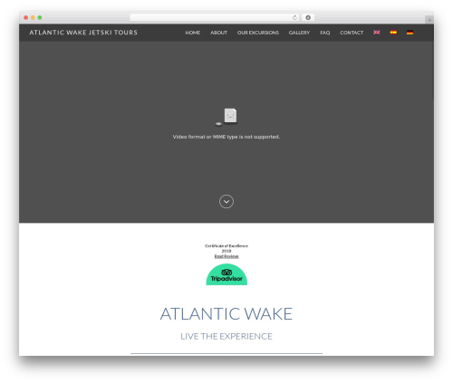 Juniper premium WordPress theme - atlanticwake.com
