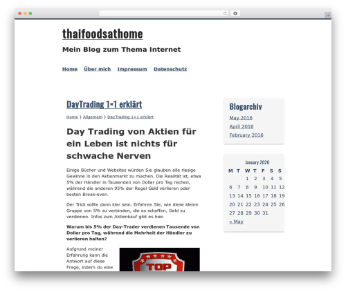 Kvarken WordPress free download - thaifoodsathome.com