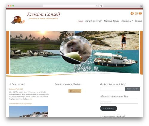Longevity WordPress template free download - evasionconseil.com