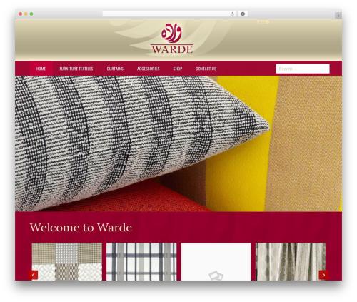 Royal WordPress page template - warde1.com