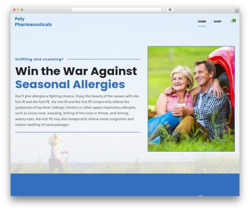 Shopscape top WordPress theme - alahist.com