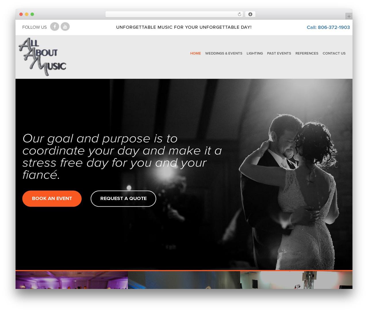 SPELLSTRAP WordPress page template - djamarillo.com