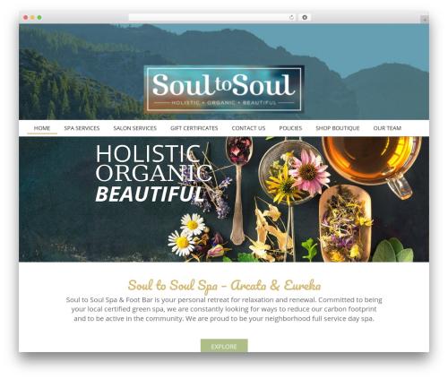 Theme WordPress Your Web Layout - soultosoulspa.com